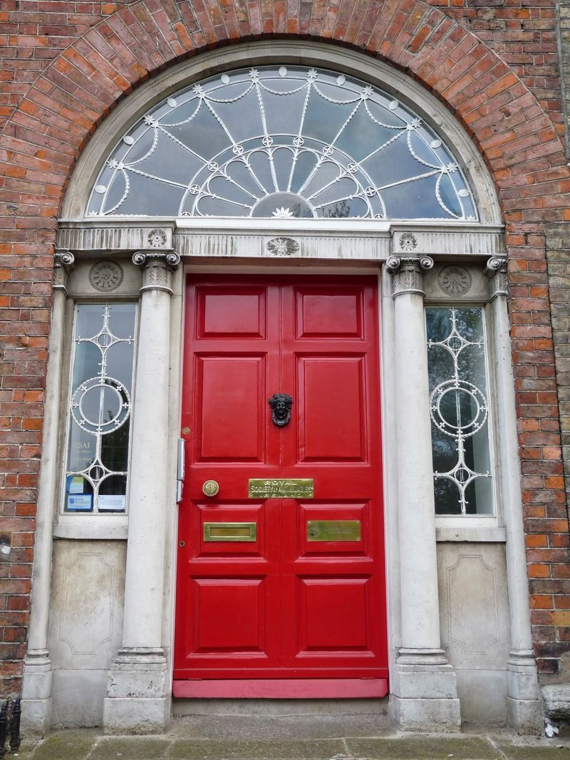Merrion Square Door