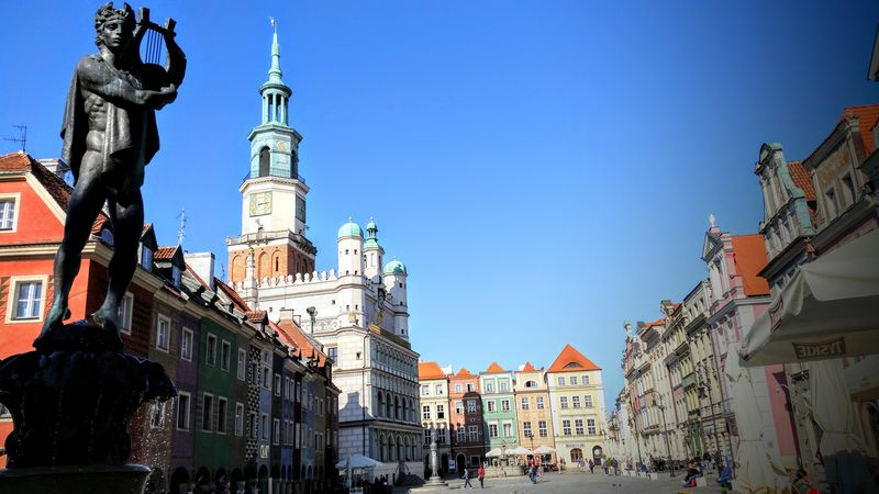 Poznan Old Town Square
