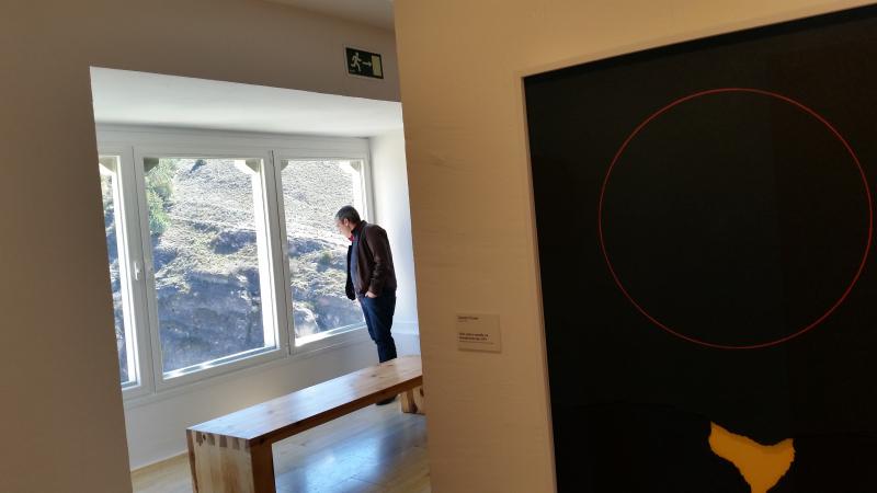 Museo de arte abstracto cuenca ventana