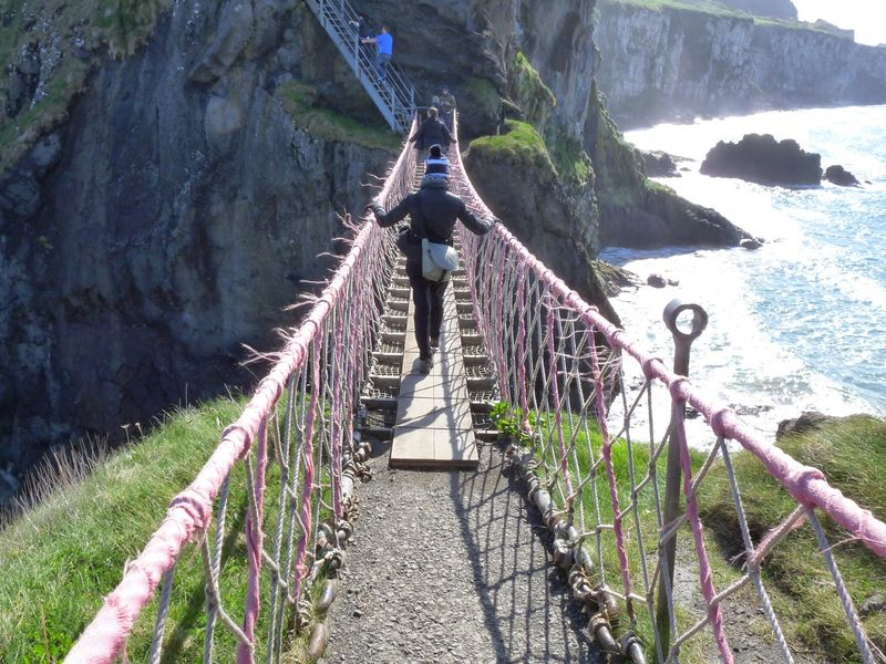 Crossing Carrick-a-Rede