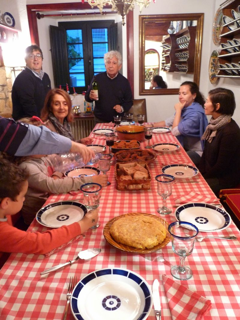Galician country feast
