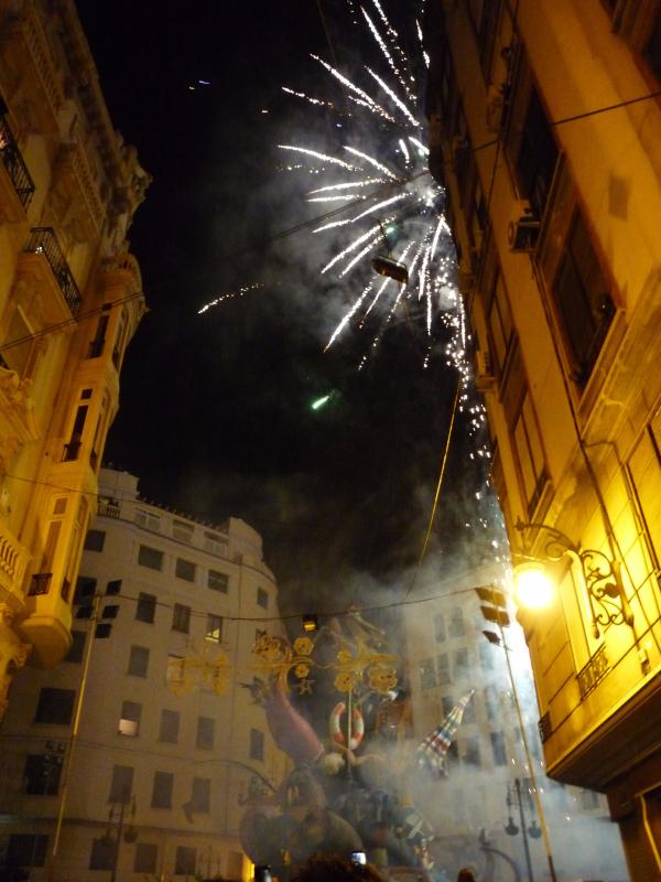 Valencia Falla Fireworks